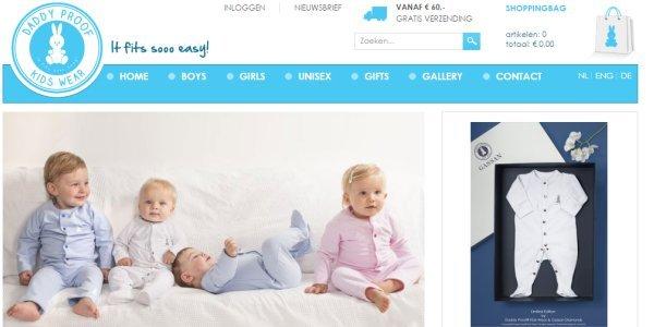 biologische babykleding van Daddyproofkidswear.com