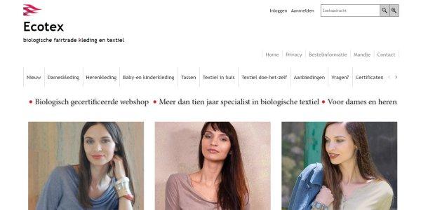 biologische kleding van Ecotex.nl