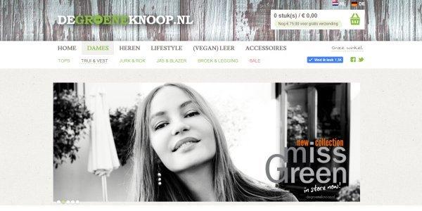 duurzame mode van Groeneknoop.nl