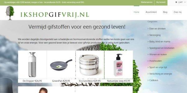 gifvrije producten van IkshopGifvrij.nl