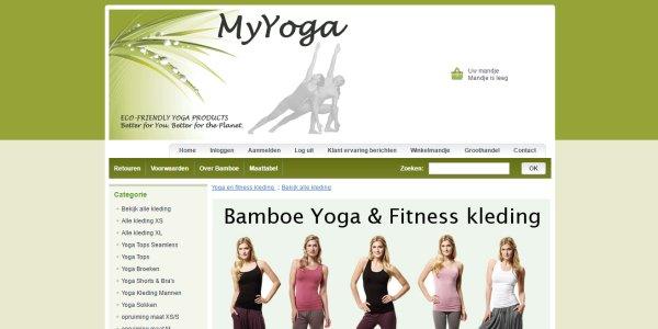 yogakleding van Myyoga.nl
