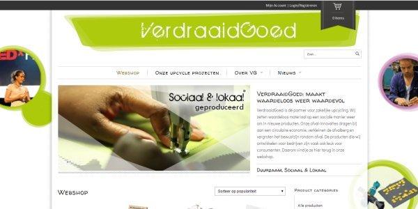 gerecycelde producten van Verdraaidgoed.nl
