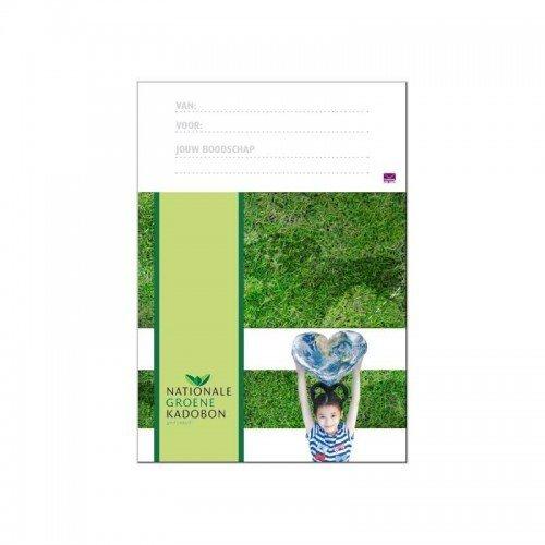 Printbare envelop Nationale Groene Kadobon
