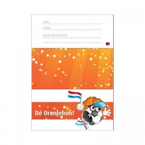 Printbare envelop oranje