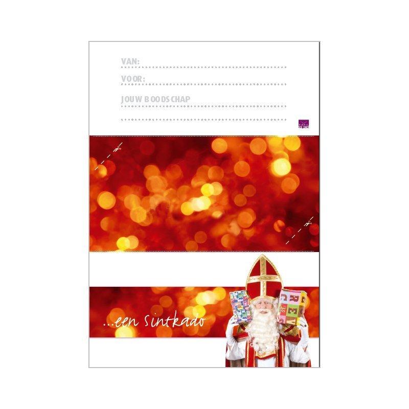 duurzame cadeaubon Sinterklaas