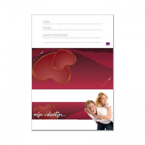 Printbare envelop Valentijn