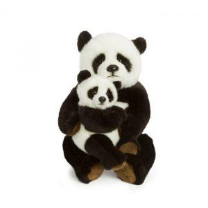 World Wildlife Fund Panda moeder met kind 28cm 700x700 1